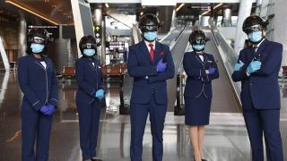 后疫情時代的高科技防護?這家機場做到了