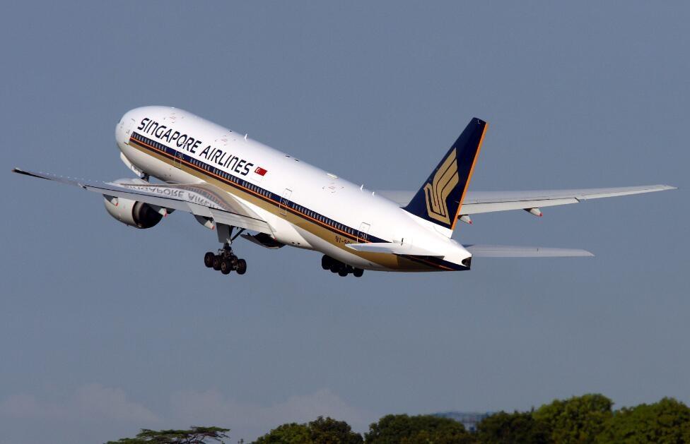 新加坡航空波音777-200飞机