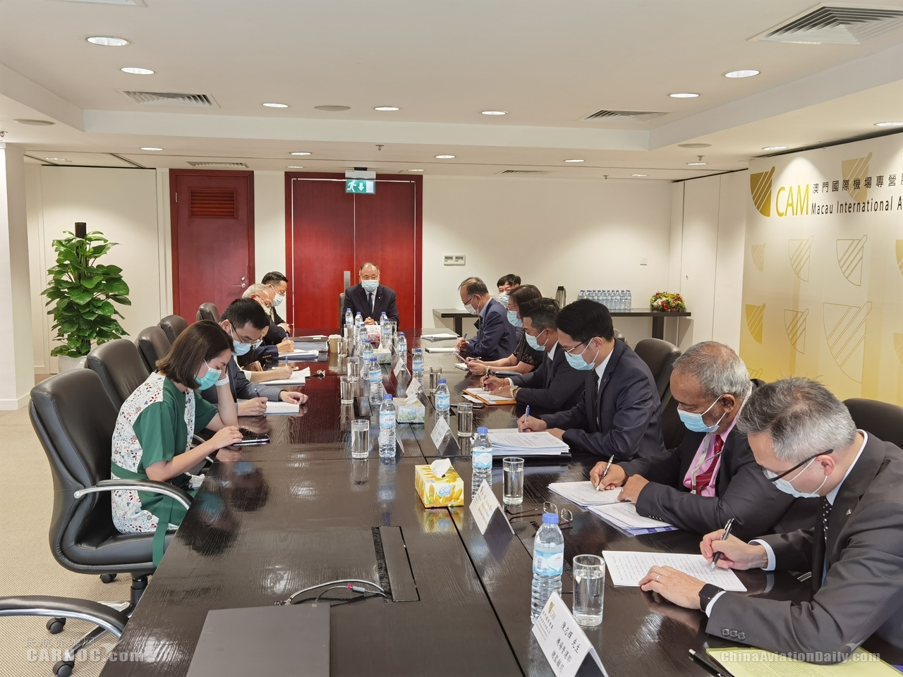 澳门机场第六次防疫应变工作小组会议 为营运复苏准备