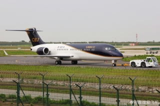 多图:国产支线客机ARJ21-700公务机版亮相!