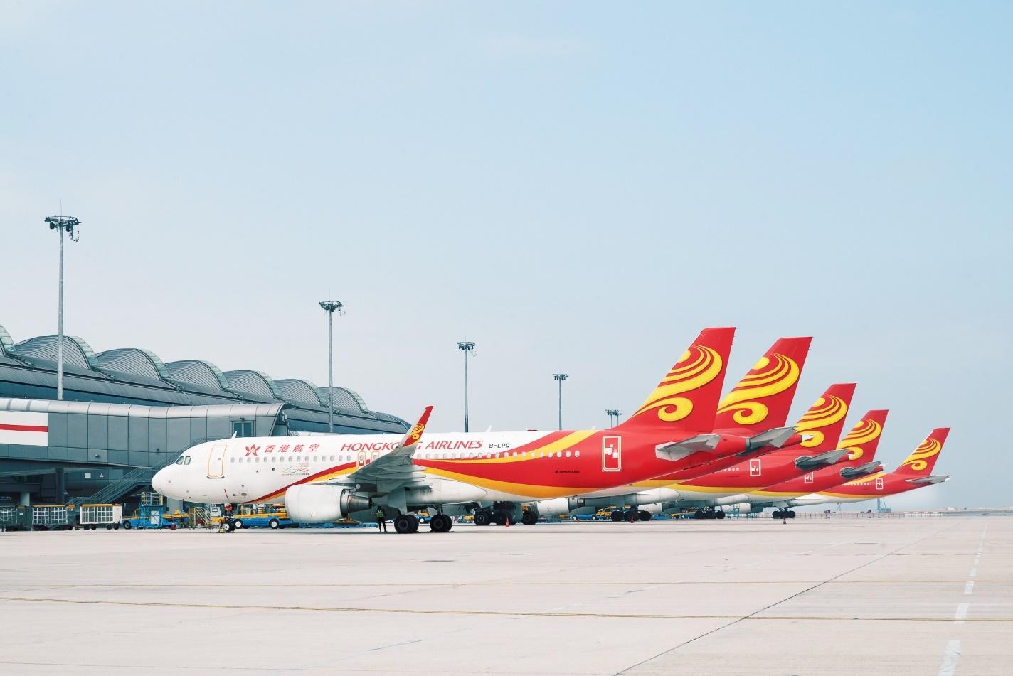 香港航空伴你安全飞行 为前线员工和乘客加强多项防疫措施