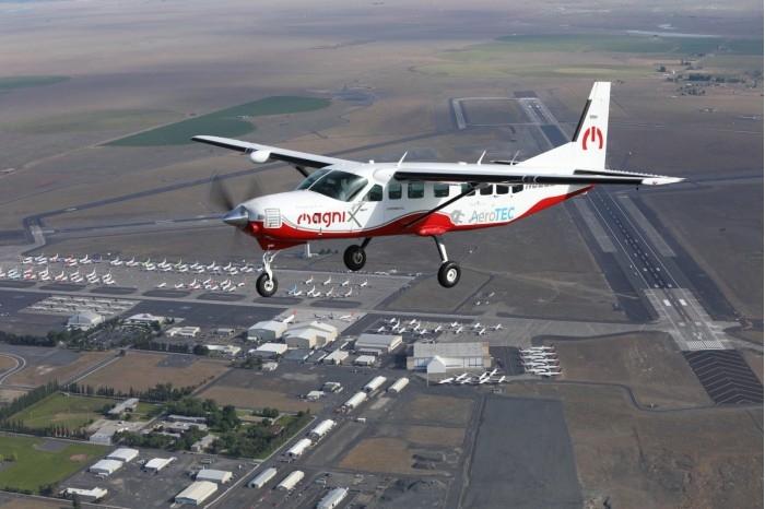 离环保飞行目标更进一步 全电动飞机Cessna成功完成首飞
