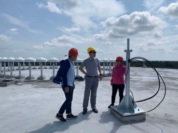 海南空管分局开展海口美兰国际机场二期扩建项目飞行校验前期保障工作