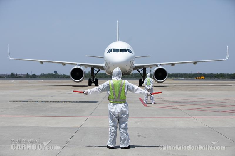 常州機場保障韓國國際包機 助力省重大項目復工復產