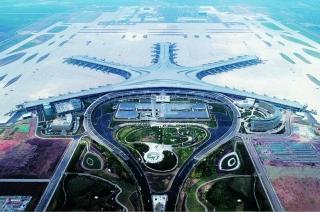 美图:海星璀璨 青岛胶东国际机场航站楼即将完工