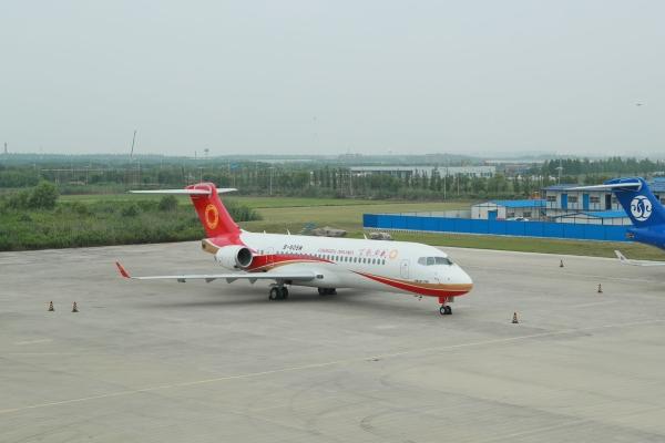 成都航空喜迎第20架ARJ21飞机 机队规模达56架