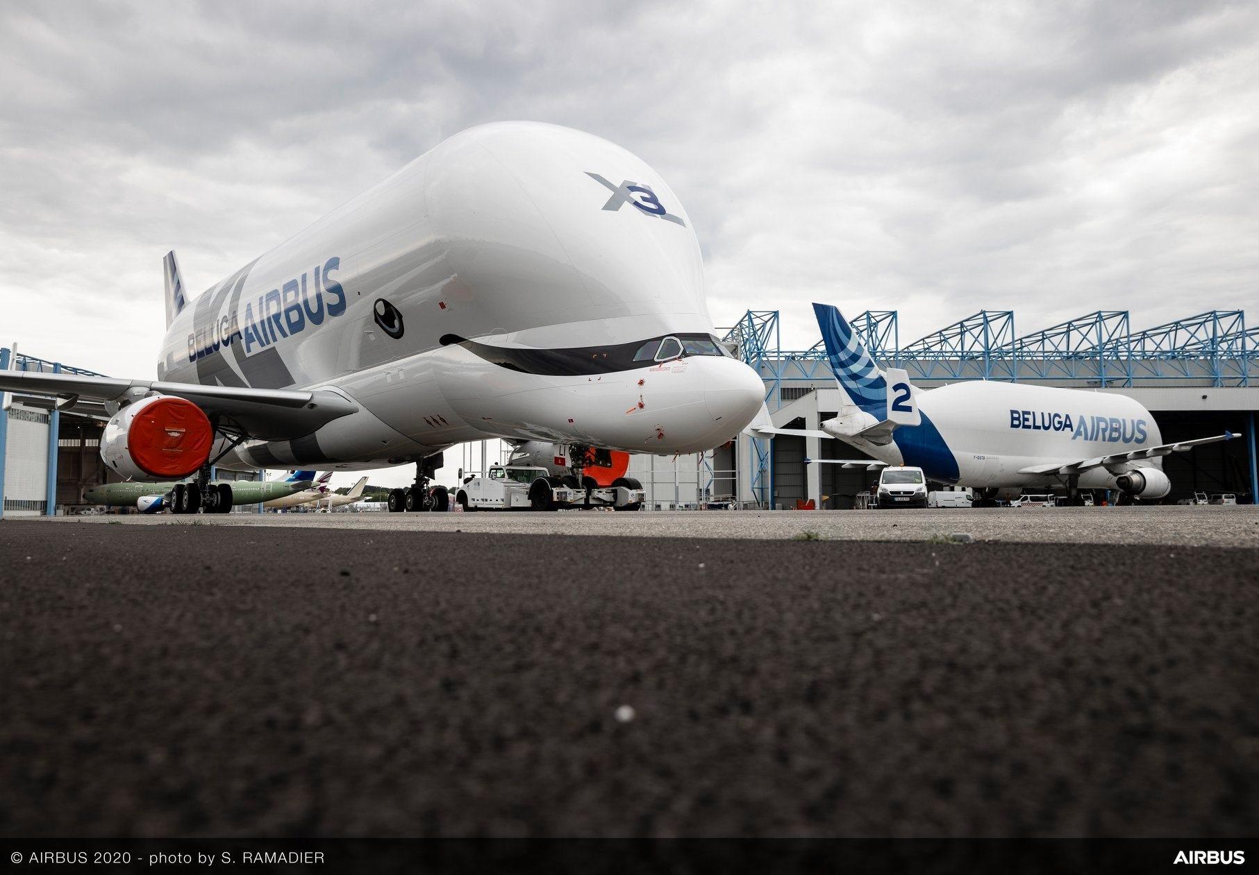 空客超级大白鲸3号机
