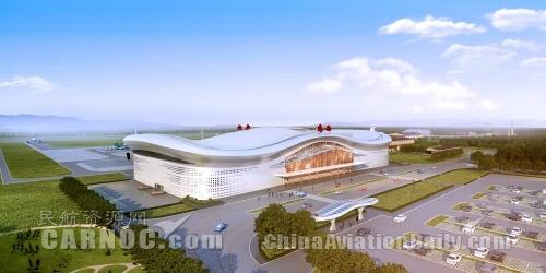 鸡西兴凯湖机场改扩建项目开工建设