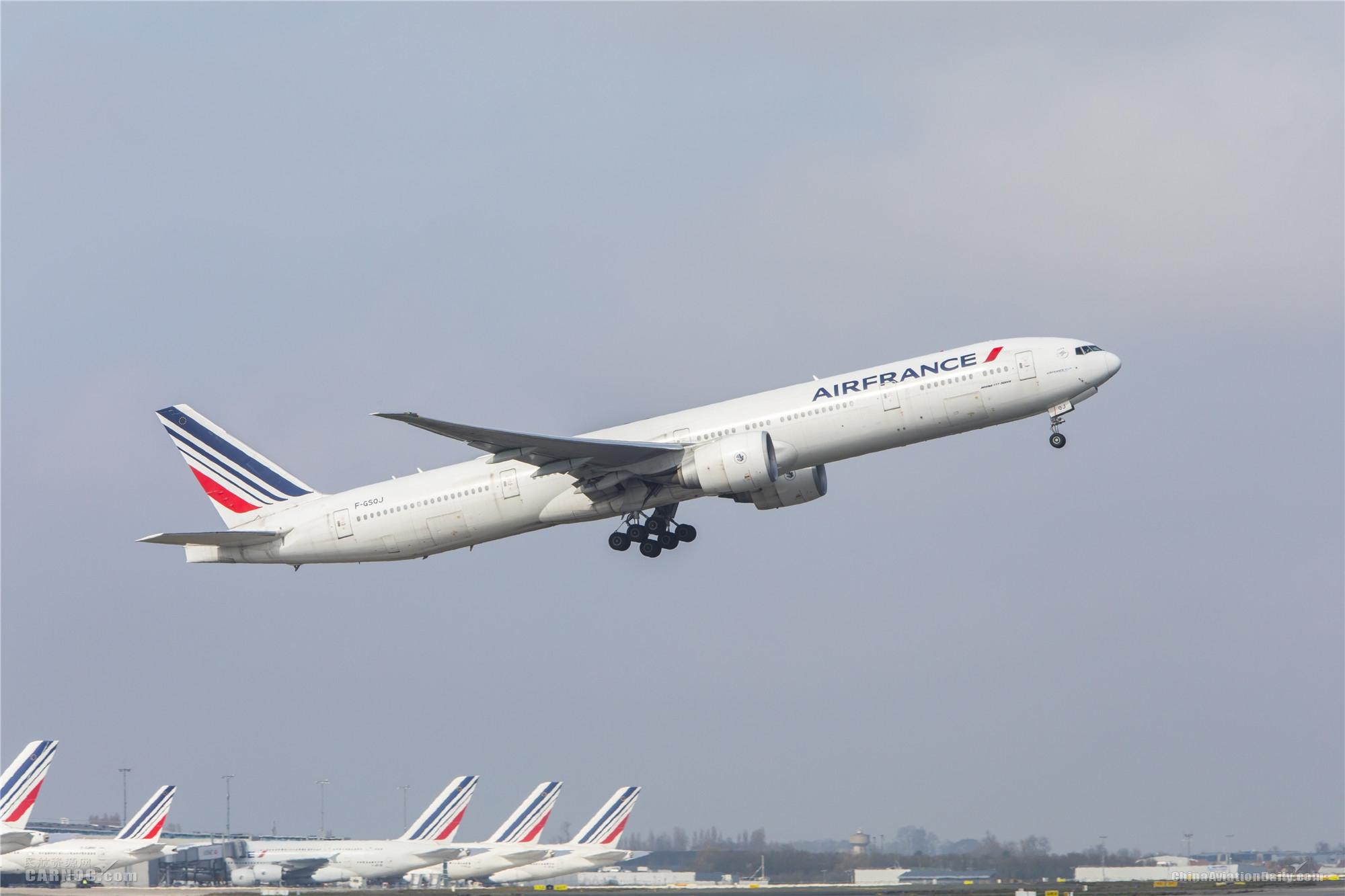 法航18日起逐步恢复巴黎-上海客运服务