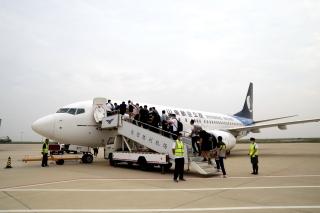 東營機場復工包機保障人數累計達1892人次