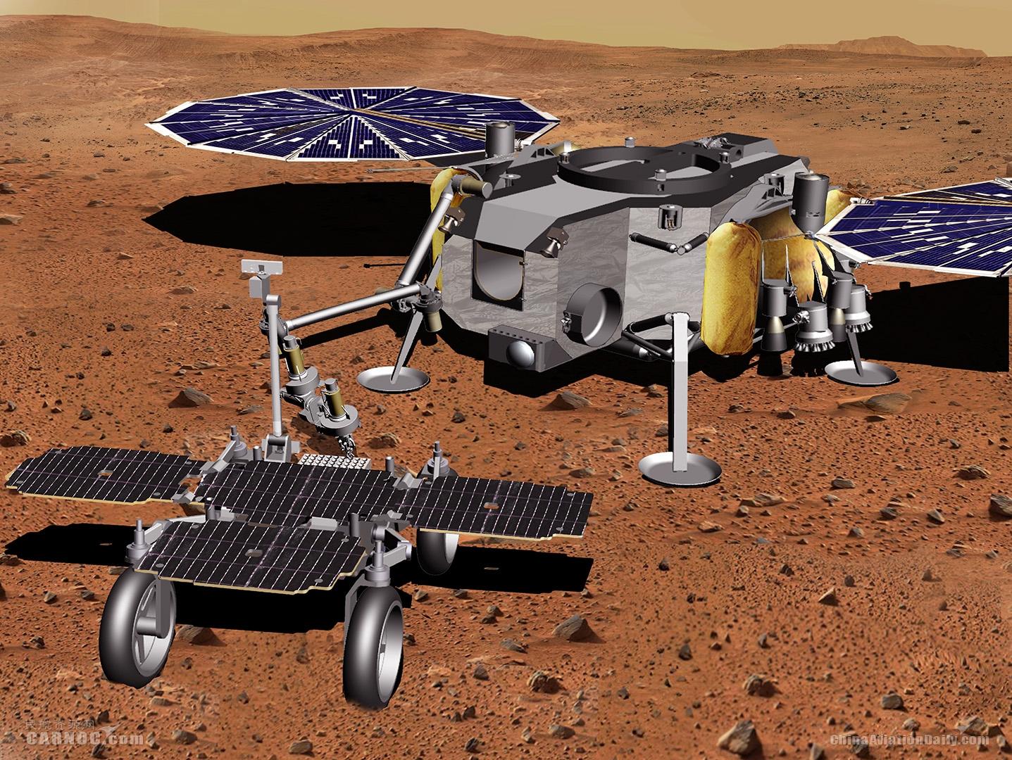 空客获得火星样本取回车下一阶段研究合同