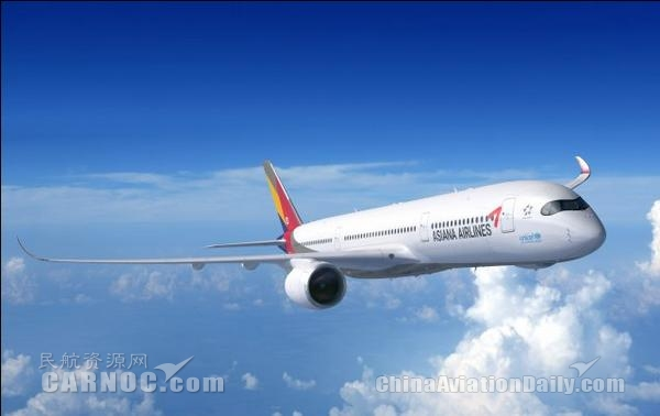 韩亚航空7月新增仁川=南京每周日航班