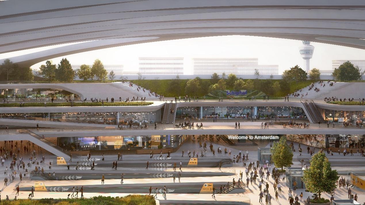 史基浦机场大力推进超级高铁 迈向可持续多式联运枢纽