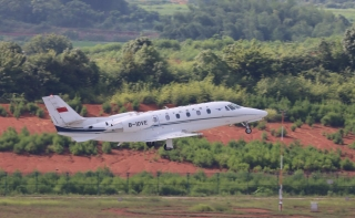 衡陽南岳機場順利完成飛行校驗工作