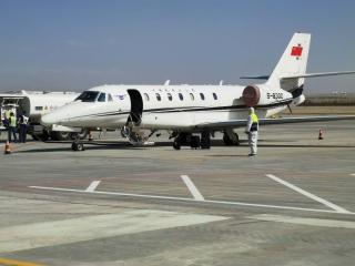 和田機場順利完成2020年第一期盲降設備飛行校驗