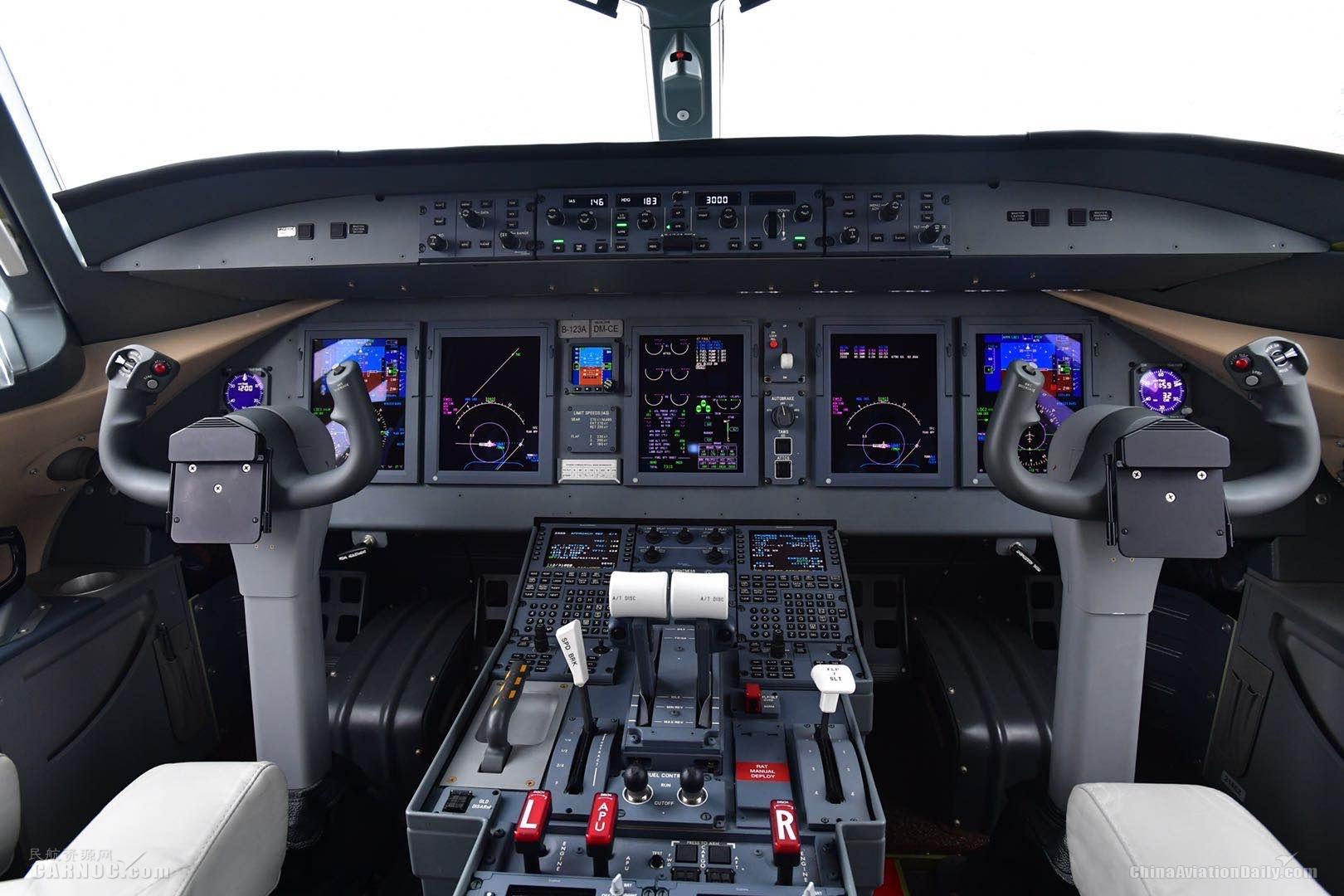 ARJ21驾驶舱                            东航供图