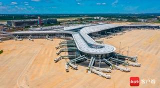 海口美兰机场二期主体工程即将完工