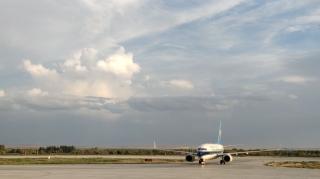 阿勒泰(喀納斯)機場圓滿完成2020年度首次旅客包機保障任務
