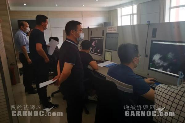 黑龙江空管分局管制运行部组织开展暑运联合应急演练工作