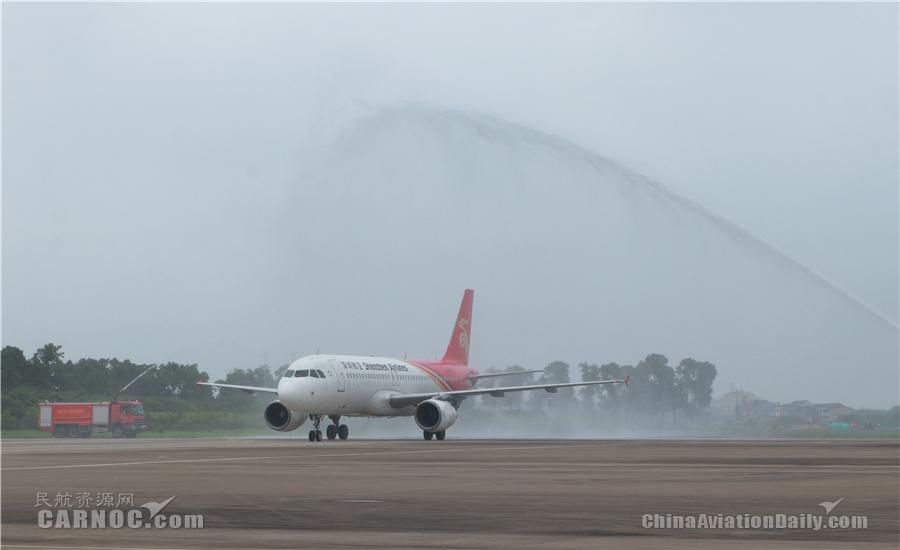 图片 献礼七一 台州机场正式开通台州=沈阳航班
