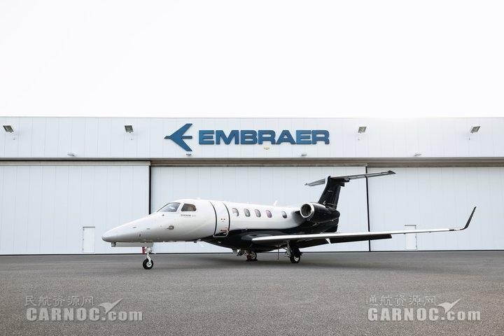 巴航工业按期交付首架新升级版飞鸿300E公务机