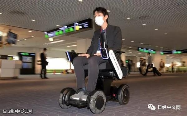 日航推出全球首个自动驾驶轮椅服务