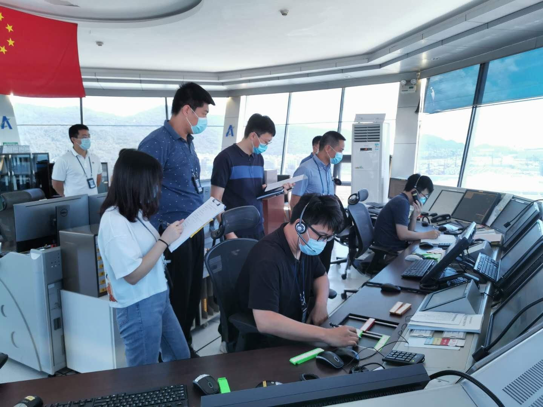 珠海空管站开展2020年第二季度联合应急演练