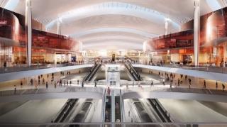 驚艷!重慶江北機場T3B內部設計圖公布 預計2025年建成