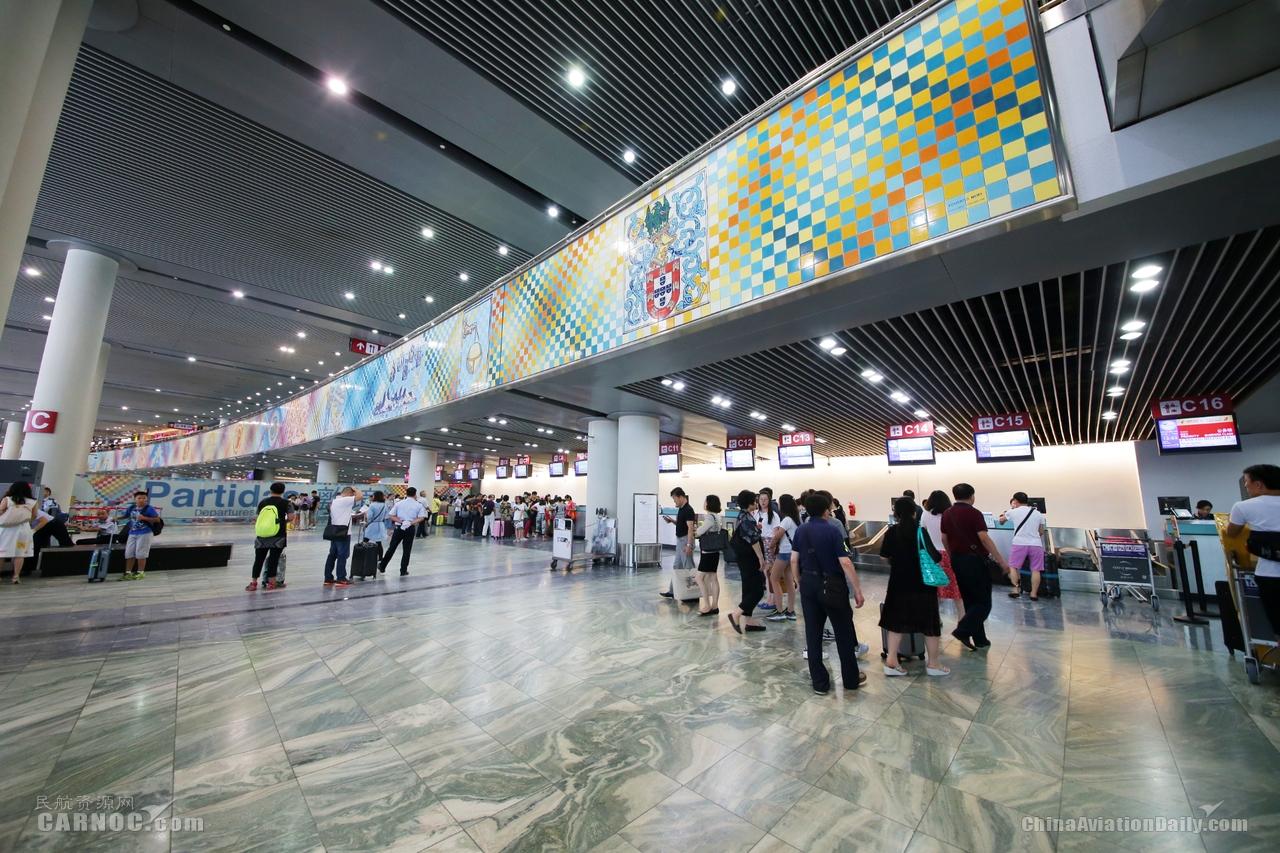 澳门国际机场于2019年行业调查中服务质素提升