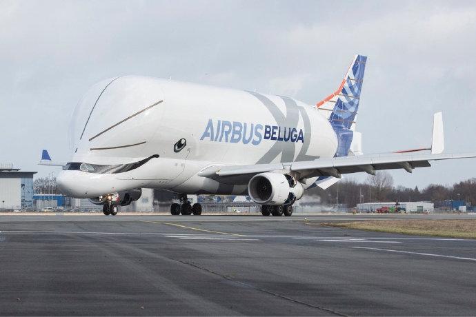 视频:空客超级大白鲸运输机在赫塔菲工厂正式营业