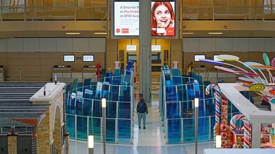 达拉斯国际机场打造无接触服务机场