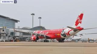 第一趟國際航班降臨蕭山機場 杭州口岸國際航線將陸續恢復
