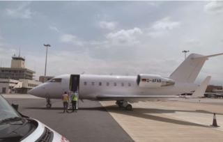 浙江商人非洲確診后270萬包機 飛35小時回國治療