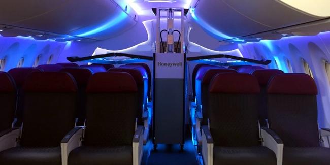 高效低成本!霍尼韦尔推出飞机客舱紫外线清洁系统