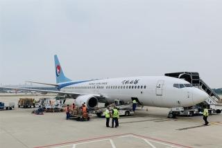國際貨運包機再起航丨河北航空再次運輸抗疫物資前往比什凱克