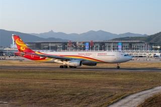三亞機場旅客運輸水平疫情后首次實現正增長