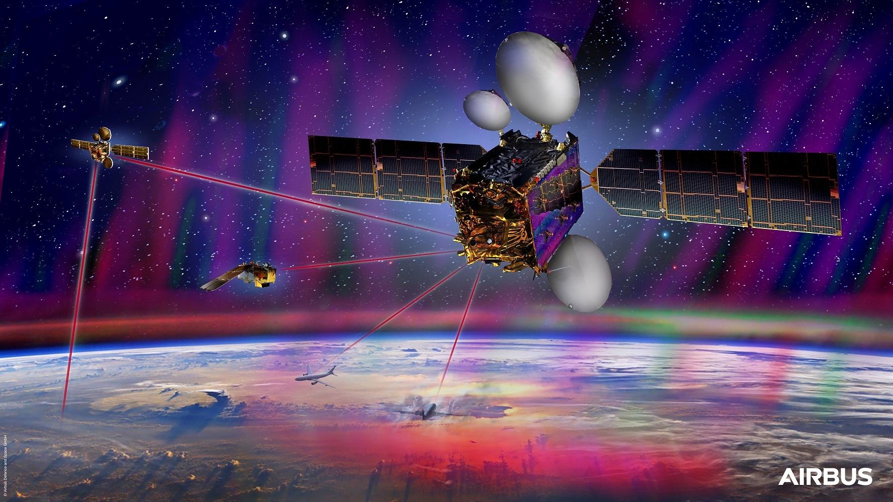 空客EDRS-C卫星完成测试 将为空间数据高速公路扩容