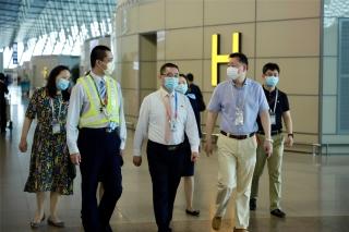 東航地服部浦東旅客服務中心與上海市第一人民醫院開展黨建共建活動