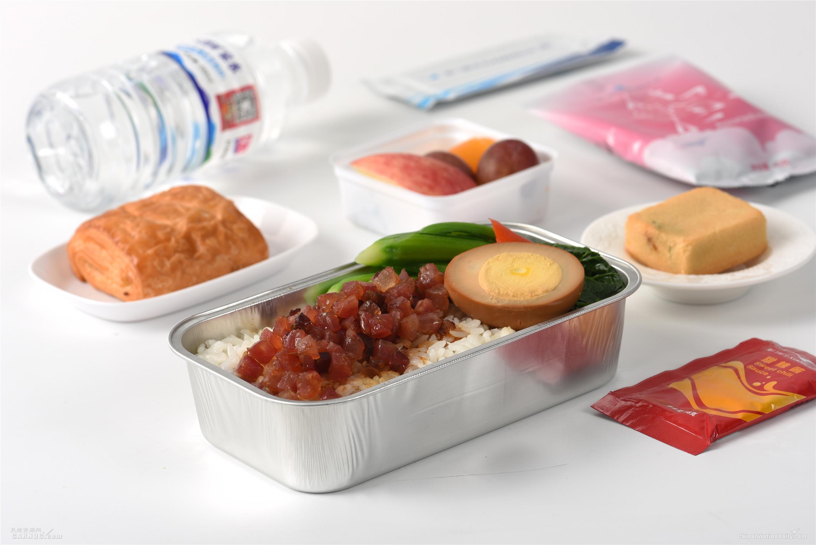 7月25日起 厦航机上餐食恢复疫情前服务标准
