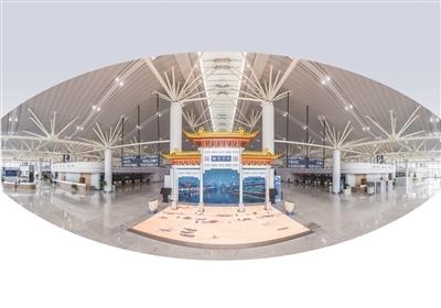 """南京禄口机场T1航站楼月底投用:值机安检完全自助一""""刷""""到底,比T2还""""聪明""""!"""