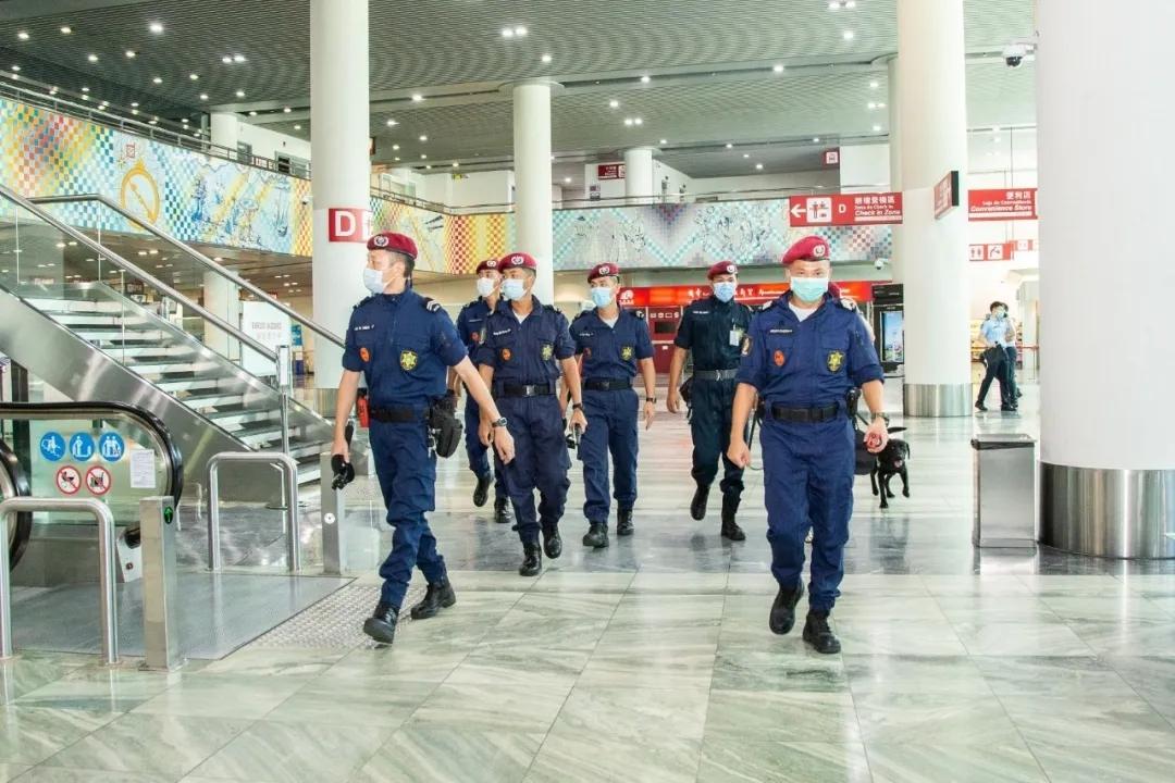 澳门机场进行保安演练 模拟发生炸弹威胁事件
