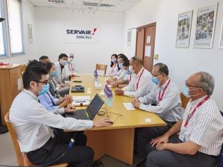 澳门机场执行委员会成员实地调研澳门航空食品供应公司