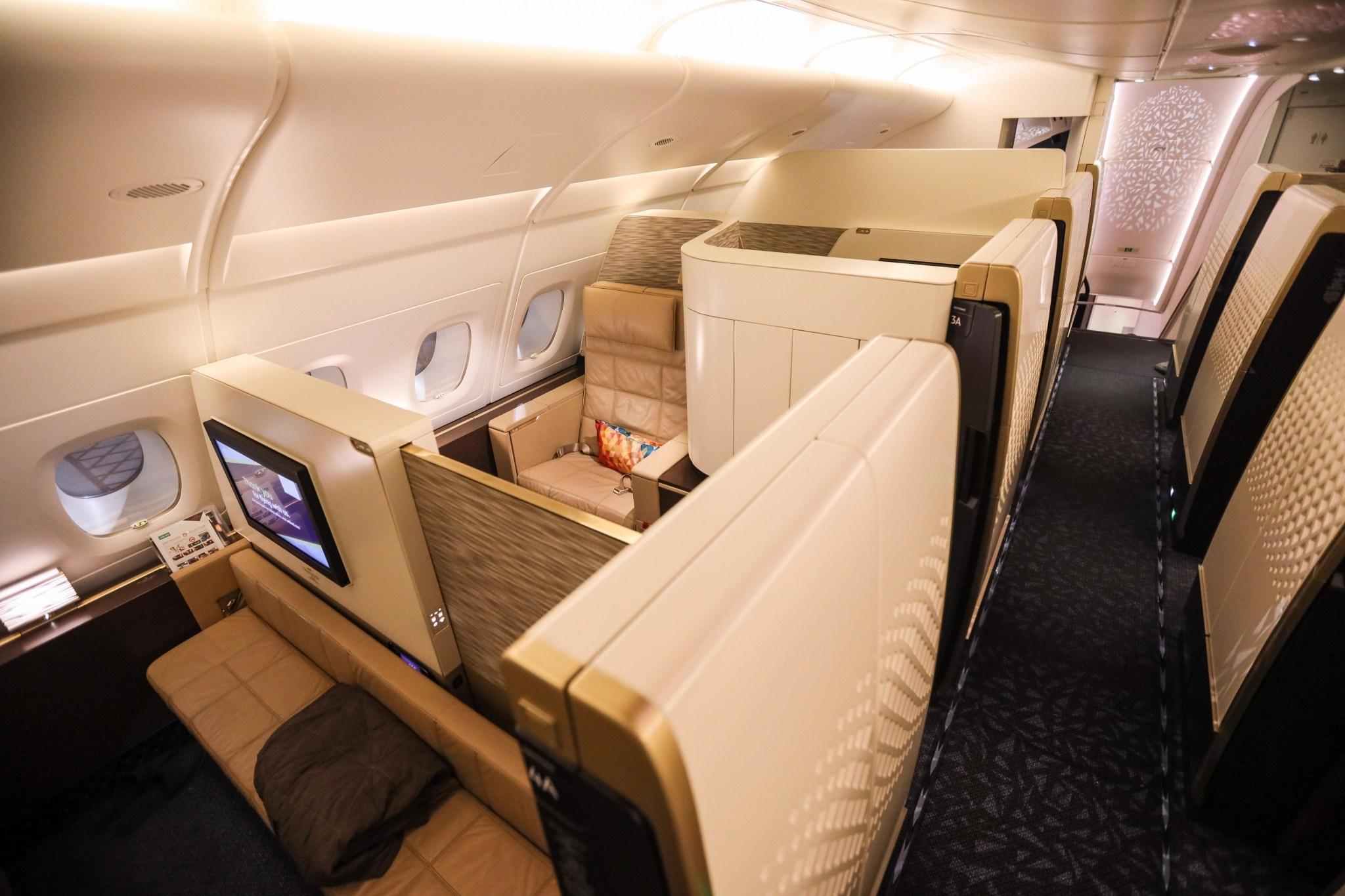 阿提哈德航空A380头等舱