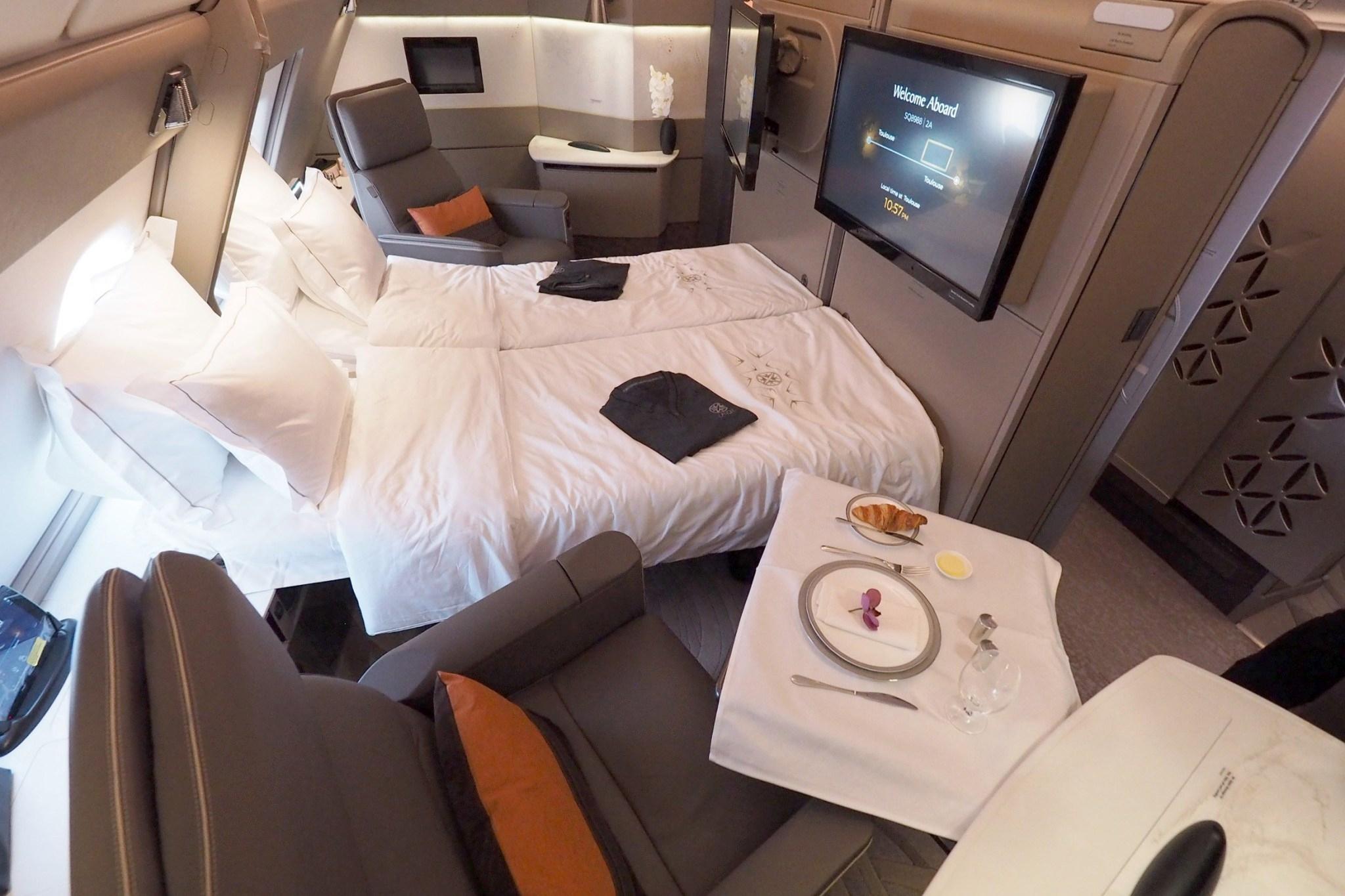 新加坡航空新型头等舱配置