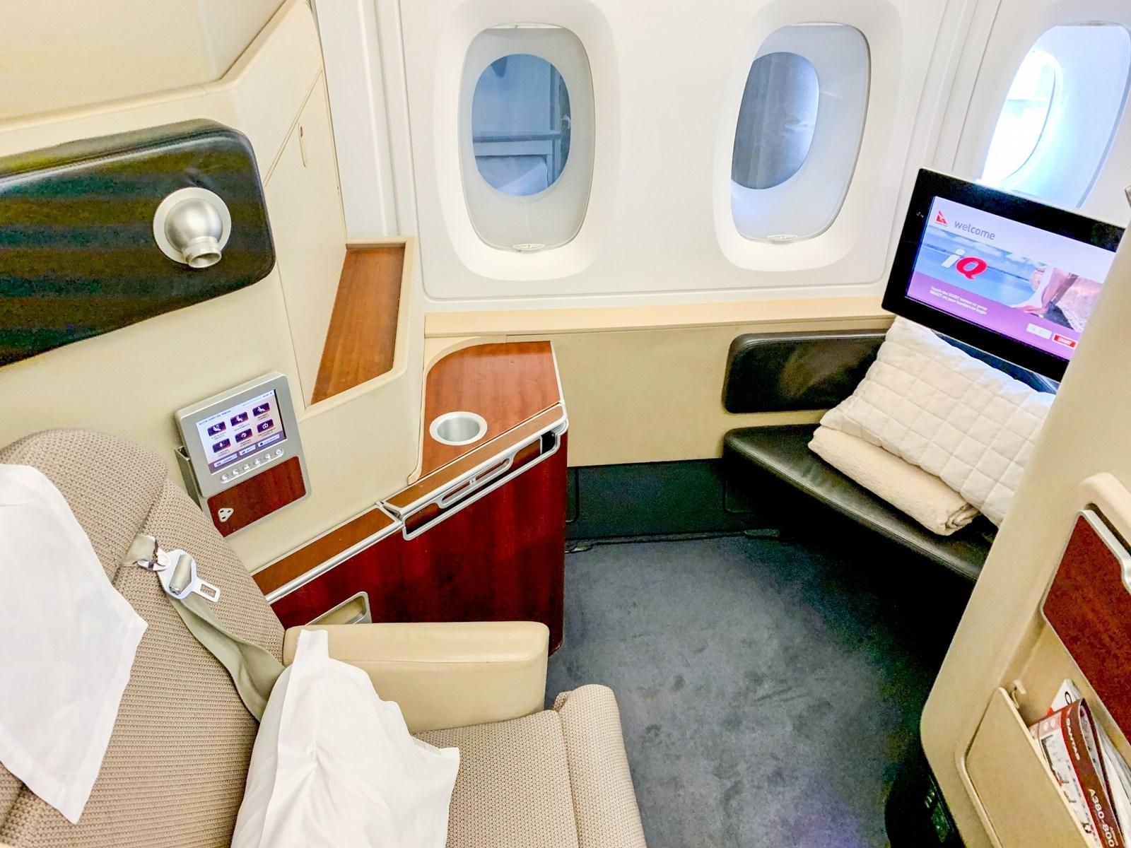 澳航A380头等舱