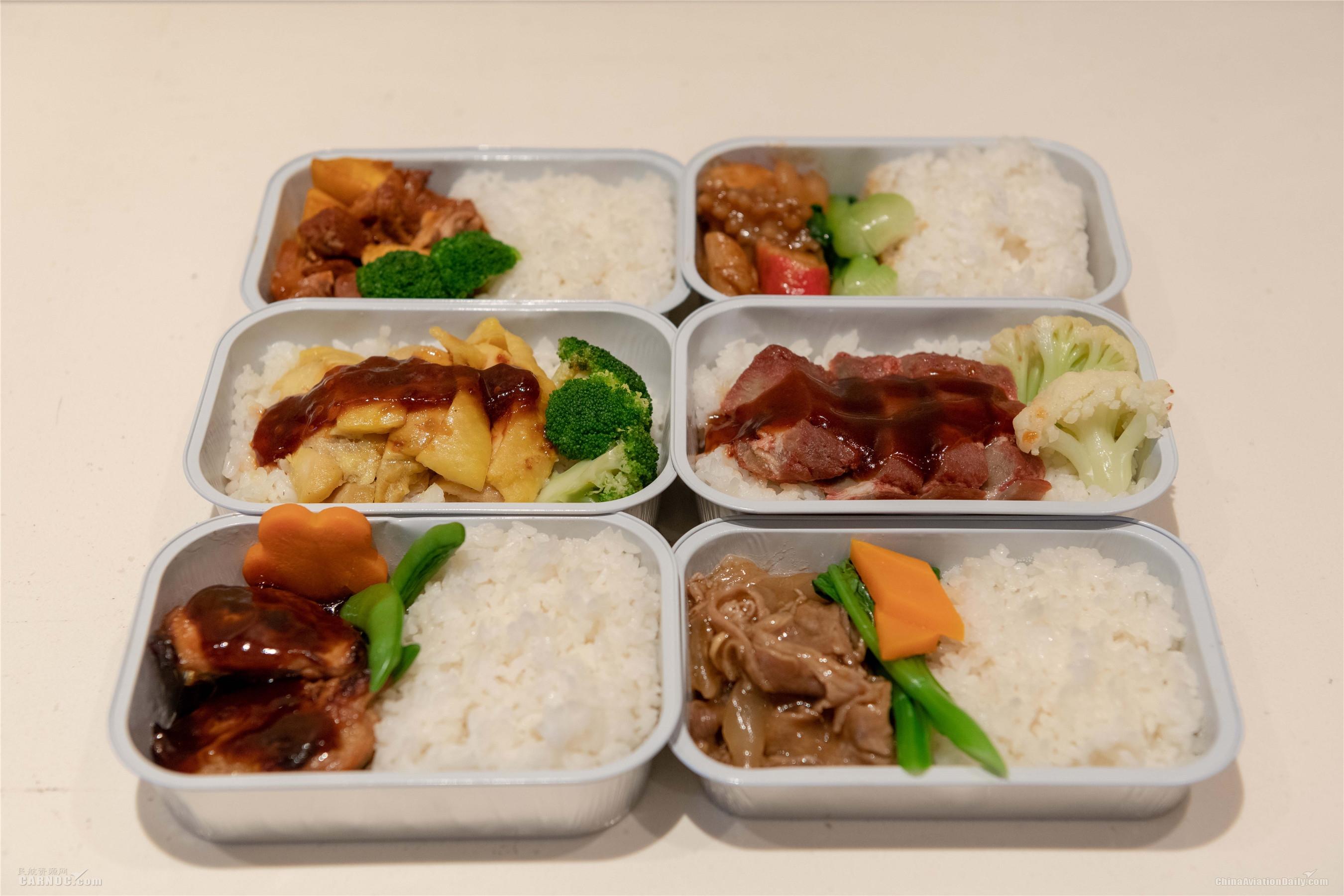 国航恢复机上热食,经济舱餐食全面提升!