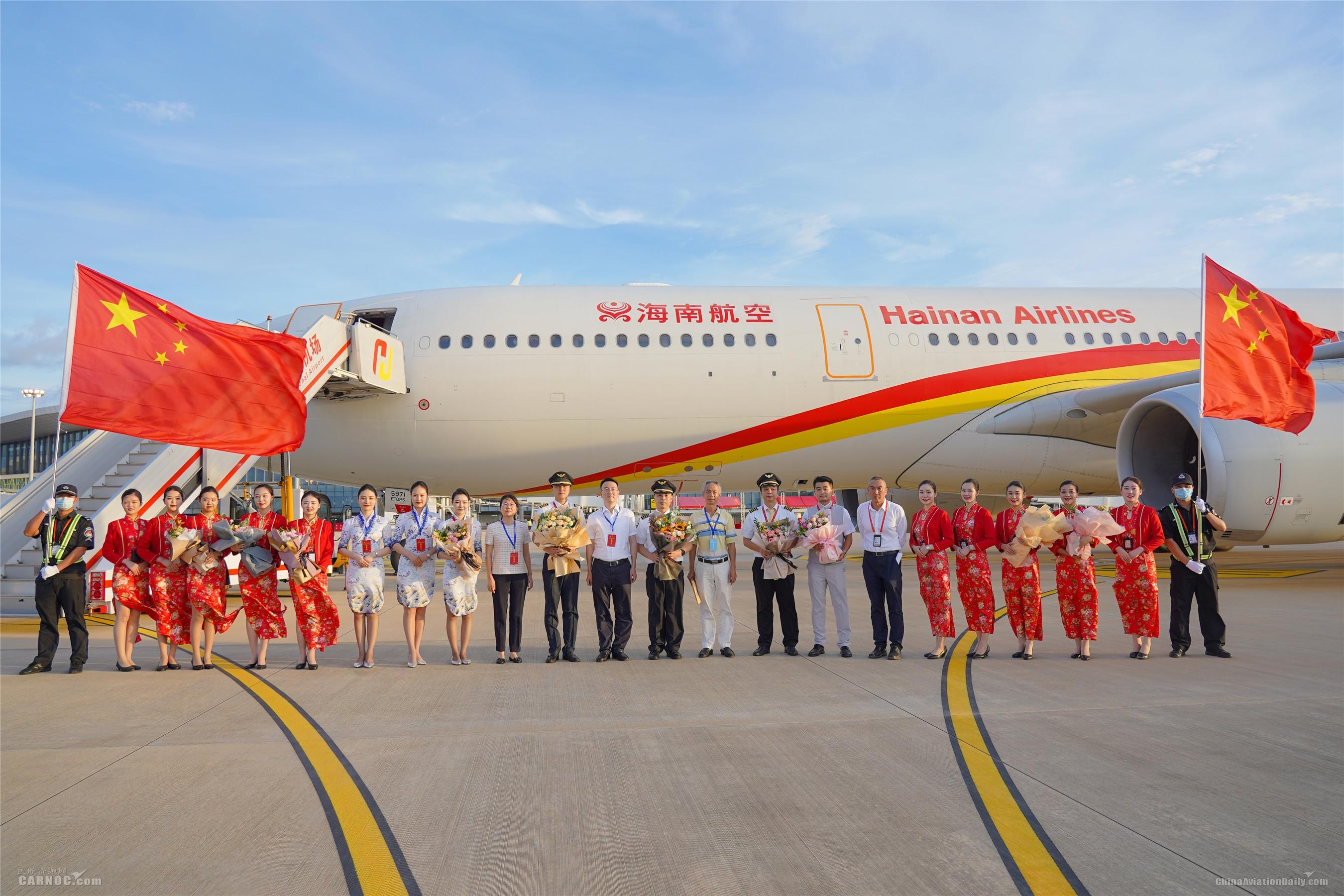 海南航空顺利完成海口美兰机场二期新跑道实地验证试飞