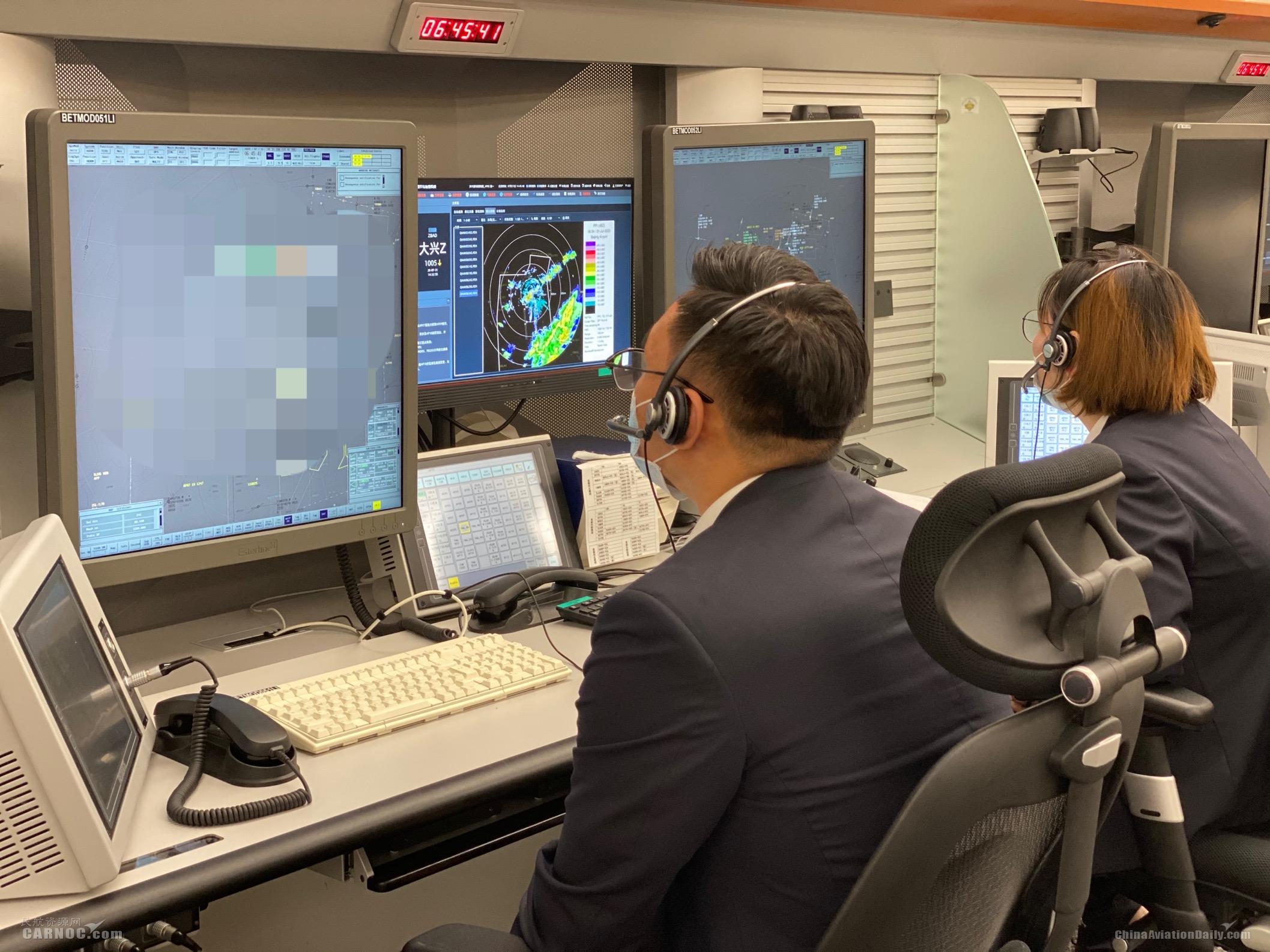 雷雨来袭 华北空管局启动大面积航班备降保障程序