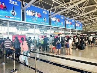 三亚机场连续两日实现生产数据正增长