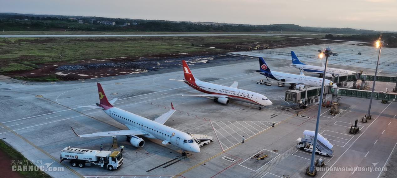 衡陽南岳機場7月份運送旅客80546人次